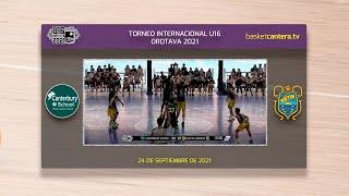U16M - CANTERBURY SCHOOL vs CAJASIETE CANARIAS.- Torneo Internacional Cadete Villa de la Orotava 21