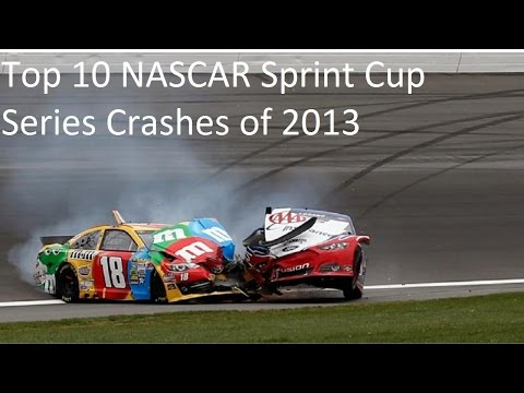 Top 10 NASCAR Sprint Cup Series Crashes of 2013
