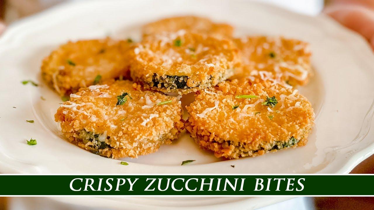 You´ve Never had Zucchini Like this | Crispy Zucchini Bites