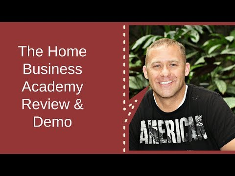 The Home Business Academy Review & Members Area Demo