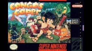 Congo's Caper | Un Mario Bros En La Preshistoria | Super Nintendo |#1