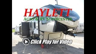 HaylettRV - 2018 Cougar Half Ton 29RKS Rear & Outside Kitchen Fifth Wheel RV