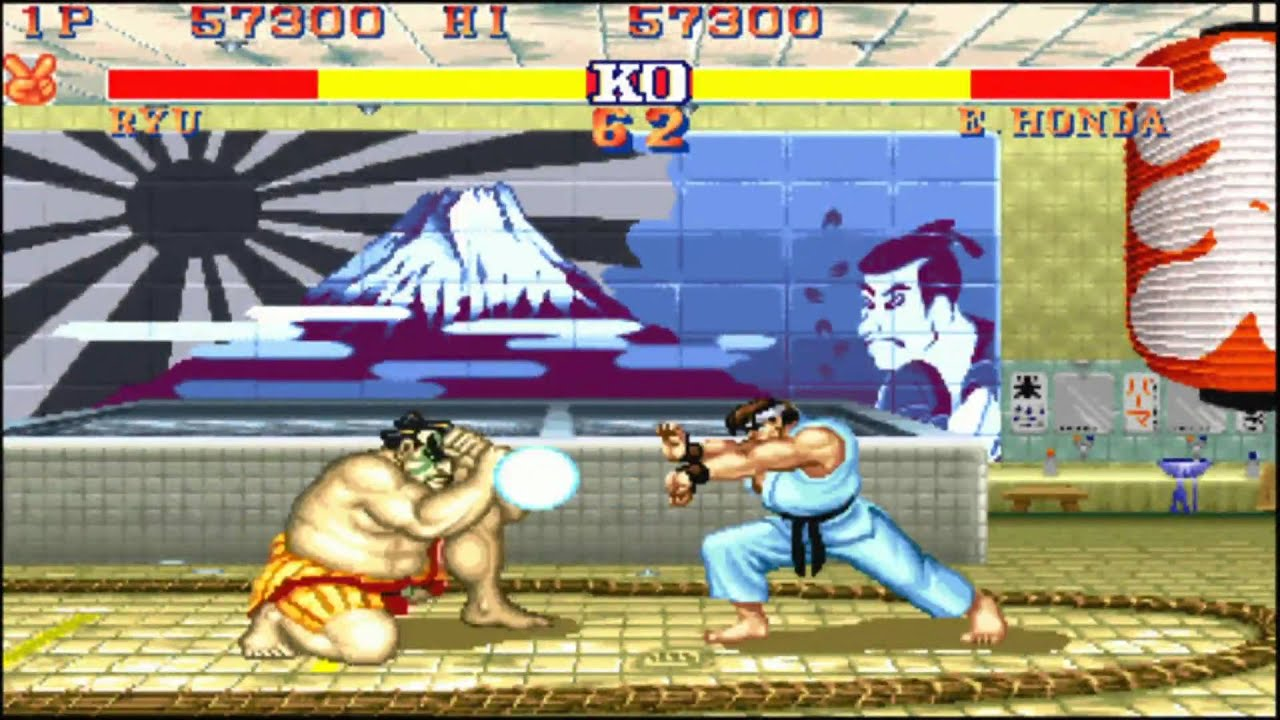Street Fighter Ii Turbo Arcade Version Japan Hd Youtube