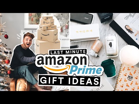 THE BEST AMAZON PRIME GIFT IDEAS - Affordable + Thoughtful Gift Ideas
