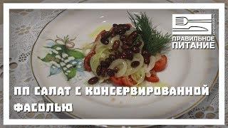ПП салат с консервированной фасолью - ПП РЕЦЕПТЫ: pp-prozozh.ru