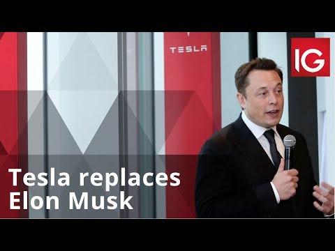 Tesla replaces Elon Musk