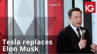 Tesla replaces Elon Musk as chair