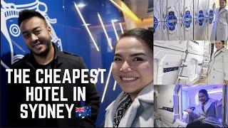 HOTEL MURAH DI SYDNEY AUSTRALIA - THE CHEAPEST HOTEL IN SYDNEY - SPACE Q CAPSULE HOTEL SYDNEY