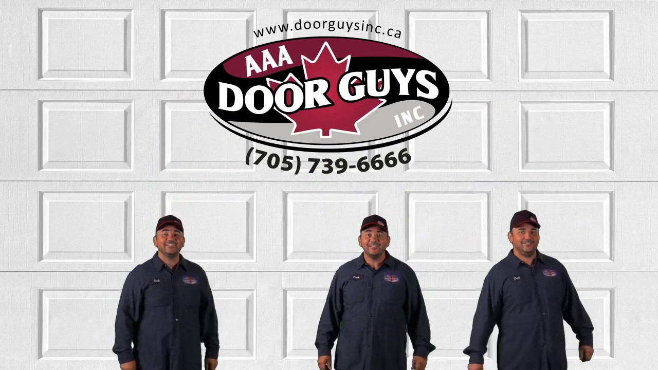 AAA Door Guys | Garage Door Tune-Up Tip #1 | Springs - YouTube