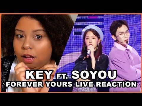 키 KEY FT. SOYOU 소유 | FOREVER YOURS LIVE LOCKET REACTION