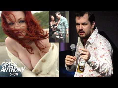 Opie & Anthony - Justine Joli vs Drunk Jim Jefferies