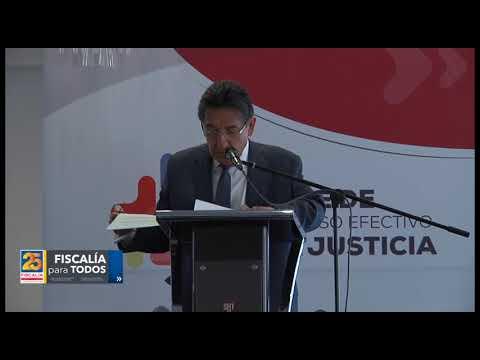 Fiscal General en Índice de Acceso Efectivo a la Justicia - 29/nov/2017