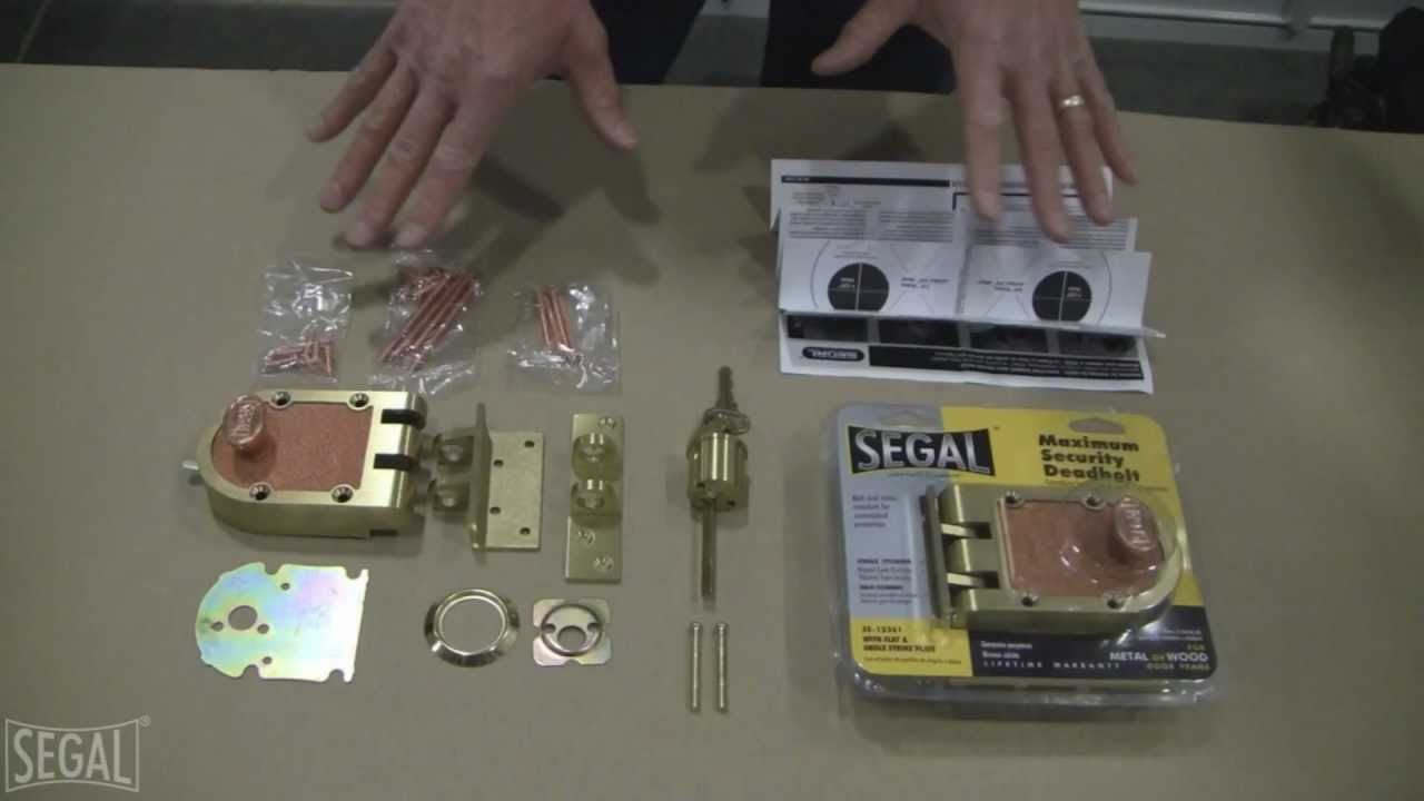 Segal Door Lock Installation Youtube