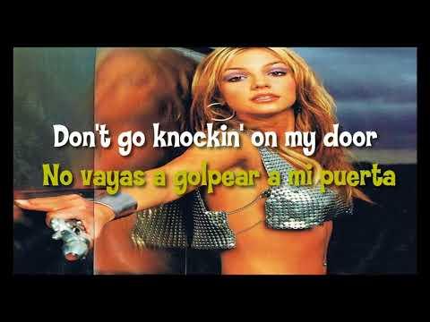Britney Spears - Don't Go Knockin' On My Door (Sub. Español Y Lyrics)