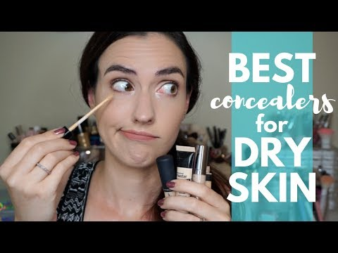 Best Concealers For DRY SKIN | The Best
