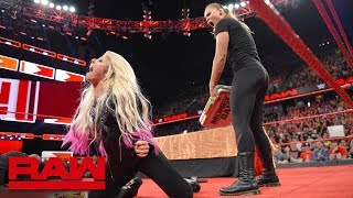 Download Ronda Rousey is suspended after launching an attack: Raw, June 18, 2018 Mp3 and Videos