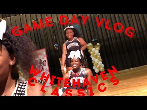 Game day Vlog ???? | Whitehaven High School 2018-2019 Cheer team