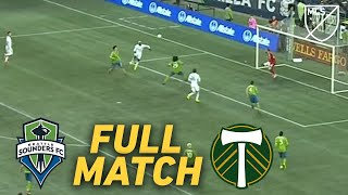 FULL MATCH REPLAY: Seattle Sounders vs Portland Timbers | A Cascadia Playoff Goal Fest!
