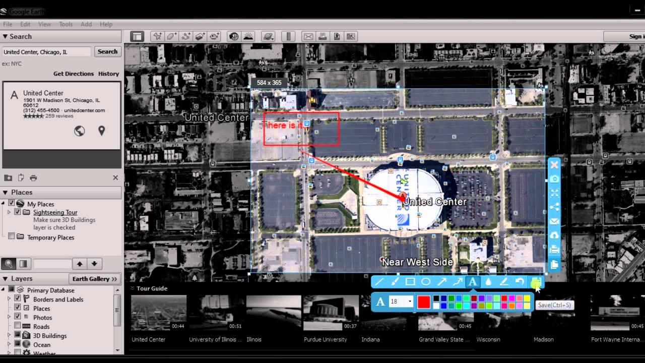 Three Ways To Screenshot Google Earth