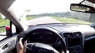 2014 Ford Fusion Titanium - WR TV POV Test Drive