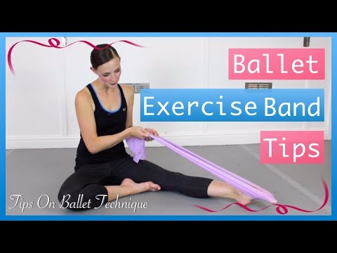 Resistance Band Exercises For Ballet Feet | Tips On Ballet Technique