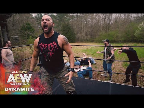 THE MURDERHAWK IS NOT HERE TO TALK | AEW DYNAMITE 3/18/20, Empty Arena
