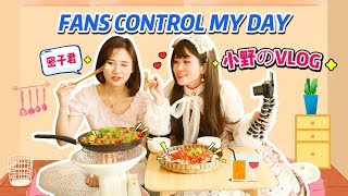 Vlog - Ms Yeah Visits Chinese Mukbang Mizi   Fans control our day