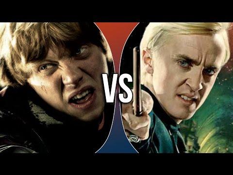 VS | Ron Weasley vs Draco Malfoy