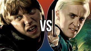 Versus Series | Ron Weasley vs Draco Malfoy