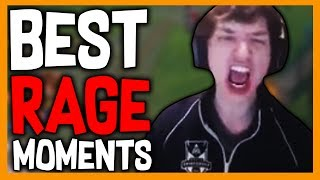 Best Rage Moments - League of Legends
