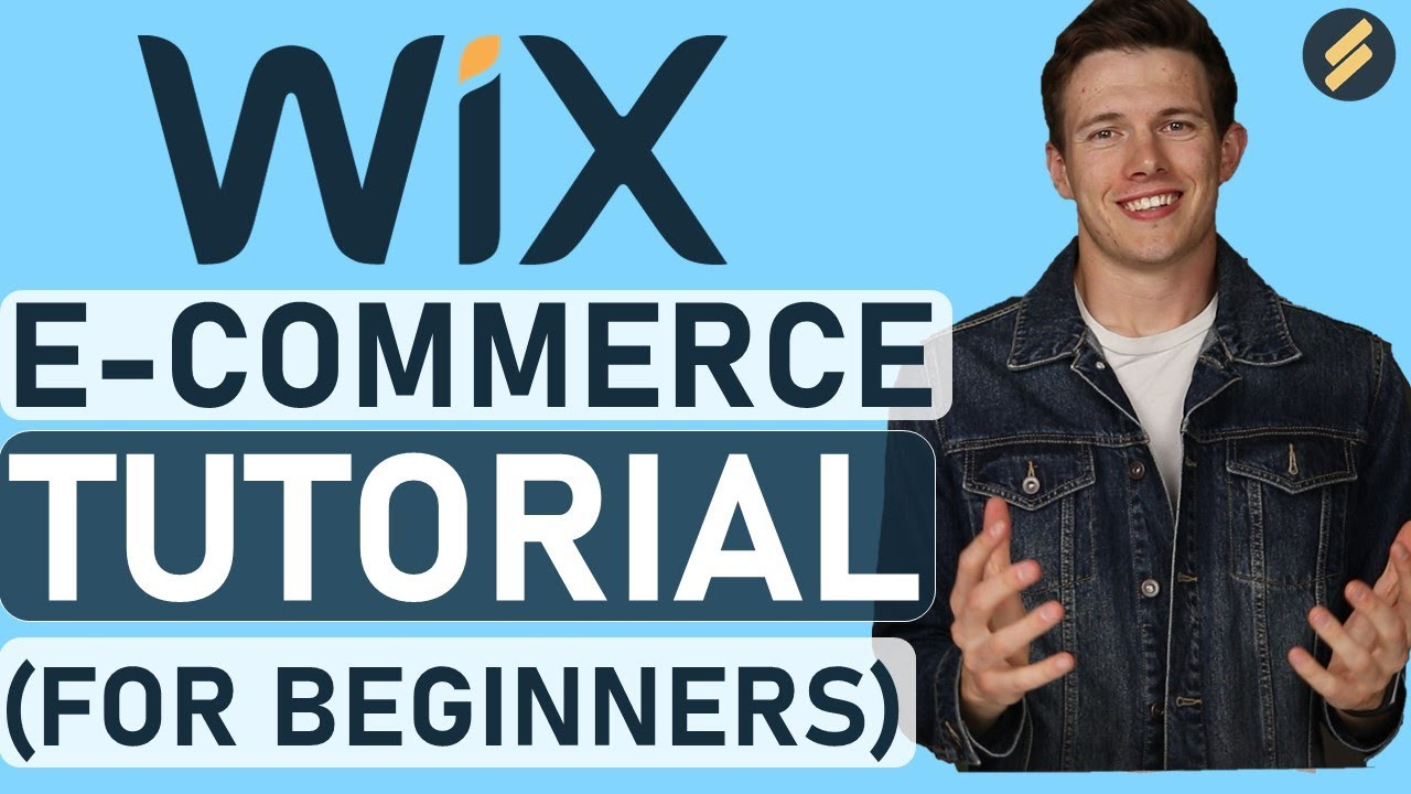 Wix Online Store Tutorial (Create a Professional eCommerce site) - Digital & Physical Items