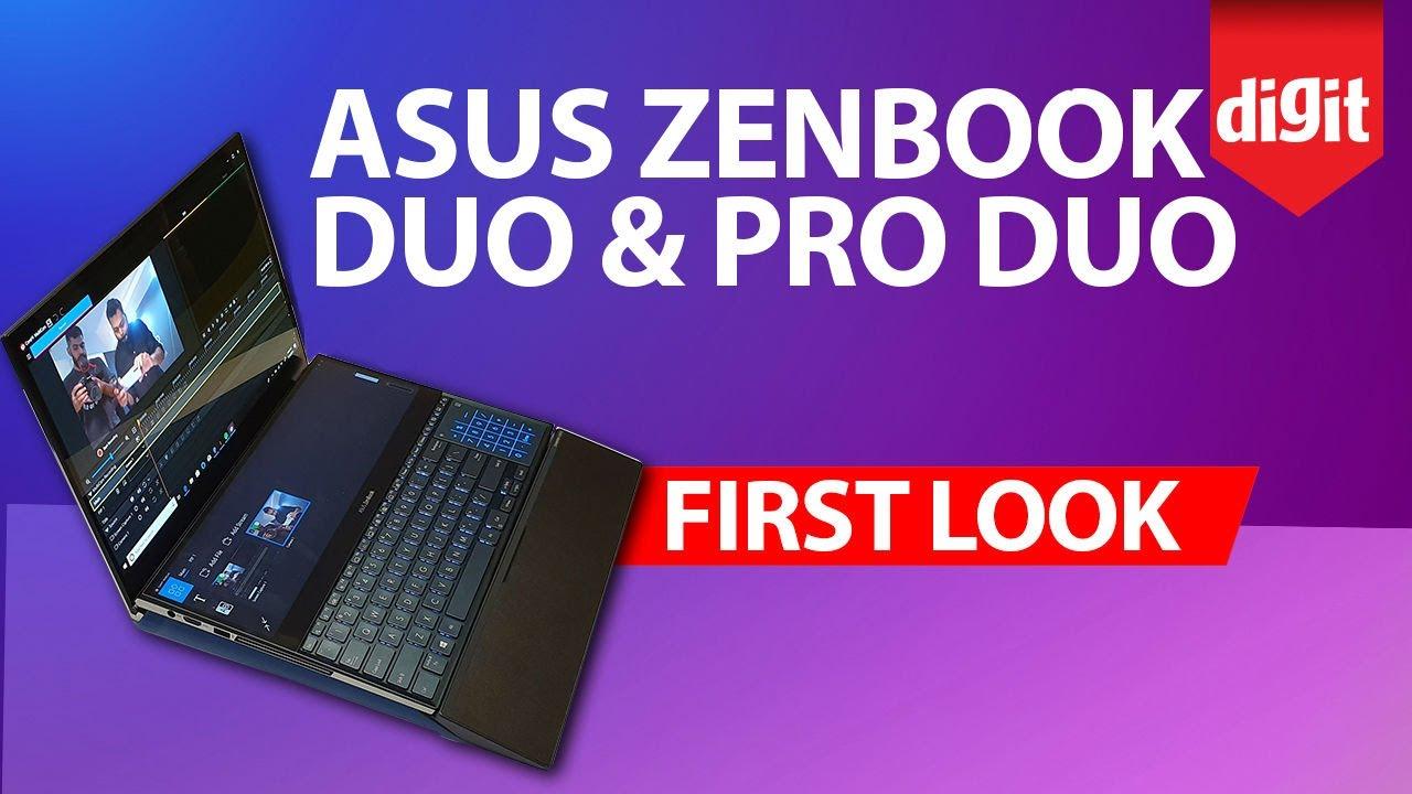ASUS ZenBook Duo & Pro Duo: First look at a dual screen laptop
