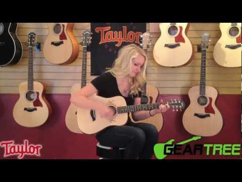 Taylor Swift Baby Taylor TSBT Acoustic Guitar Demo