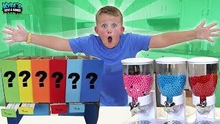Giant Mystery Candy Dispenser Mix Up!!