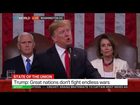 Trump talks on US troop presence in Middle East and Afghanistan