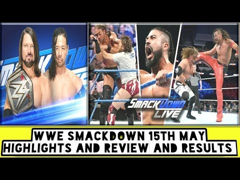 WWE Smackdown 15th May Highlights And Review And Results/World Wrestling Tamil thumbnail