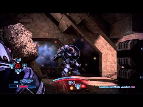 Gold Krogan Soldier Melee Giant Cerberus 3 Players