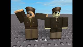 "Nerfer's Face, But Every ""Salute"" is played over by the ROBLOX death sound."