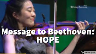 Message to Beethoven: Arrangement on Beethoven's Symphony 9- 베토벤에게 전하고 싶은 메세지 희망!!^^