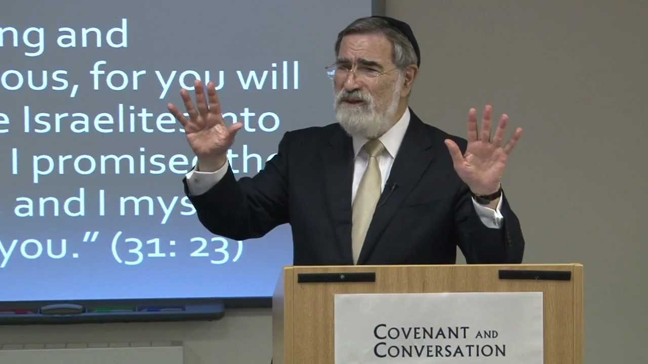 Nitzavim Vayelech - Covenant & Conversation - Thoughts from the Chief Rabbi