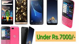 Mobile and Tablets under Rs. 7000/-