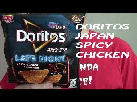 Doritos Japan Late Nighty Chicken Chips Ochist Reviews