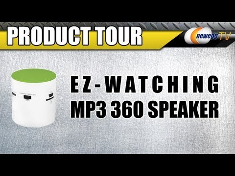 Newegg TV: EZ-WATCHING MP3 Cool 360 Speaker Product Tour