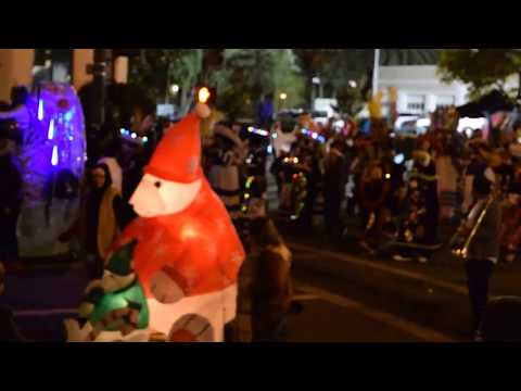 Christmas Parade, Santa Barbara Ca 2016.