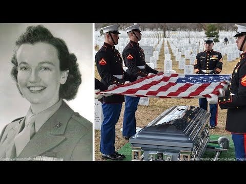 First female Marine to retire from active service laid to rest