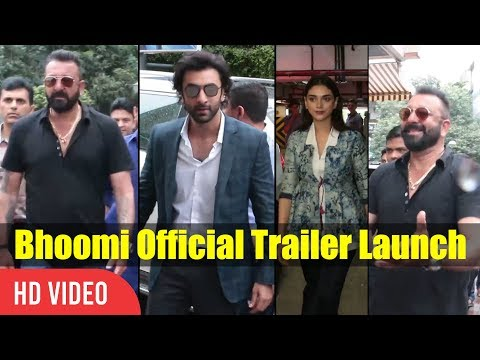 Bhoomi Official Trailer Launch   Sanjay...