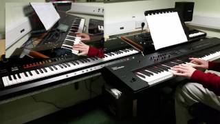 Queen - Say it's not true piano / keyboard cover featuring the Roland RD-800 and Korg Kronos