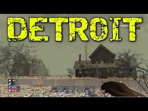 7 DAYS TO DIE PS4 let's play #22 Gameplay: Detroit