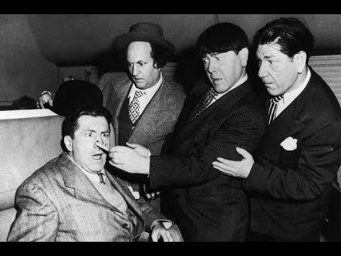 The Three Stooges 100 Hold That Lion 1947 Shemp, Larry, Moe