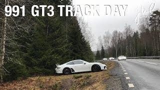 My first trackday with my 991.2 GT3 Gelleråsen Sweden | EP 017